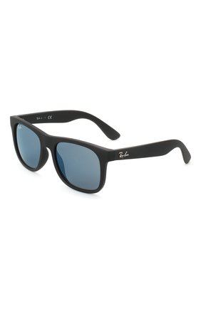 Детские солнцезащитные очки RAY-BAN черного цвета, арт. 9069S-702855 | Фото 1