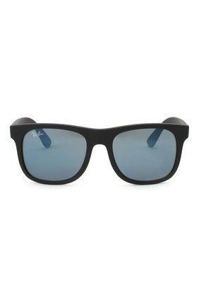 Детские солнцезащитные очки RAY-BAN черного цвета, арт. 9069S-702855 | Фото 2