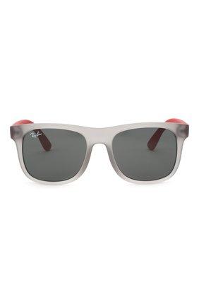 Детские солнцезащитные очки RAY-BAN серого цвета, арт. 9069S-705987 | Фото 2