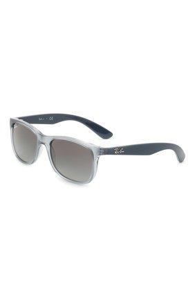 Детские солнцезащитные очки RAY-BAN серого цвета, арт. 9062S-705011 | Фото 1