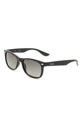 Детские солнцезащитные очки RAY-BAN черного цвета, арт. 9052S-100/11 | Фото 1