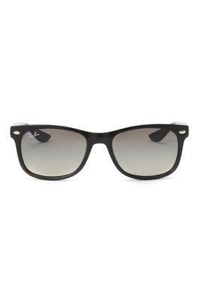 Детские солнцезащитные очки RAY-BAN черного цвета, арт. 9052S-100/11 | Фото 2