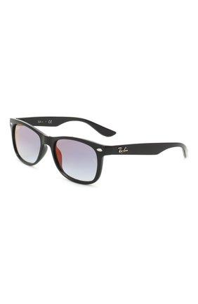 Детские солнцезащитные очки RAY-BAN черного цвета, арт. 9052S-100/X0 | Фото 1