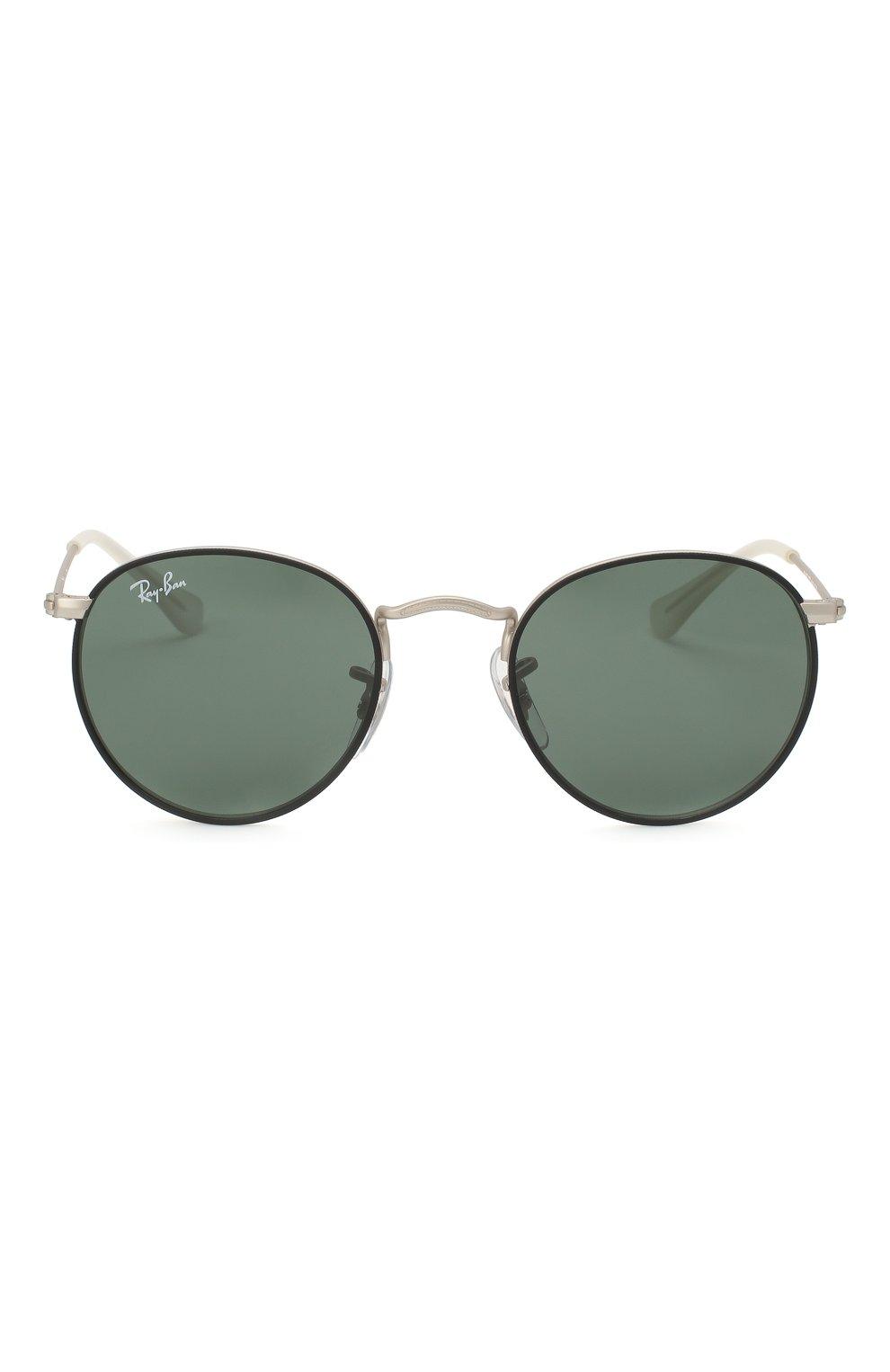 Детские солнцезащитные очки RAY-BAN черного цвета, арт. 9547S-277/71   Фото 2