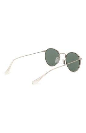 Детские солнцезащитные очки RAY-BAN черного цвета, арт. 9547S-277/71   Фото 3