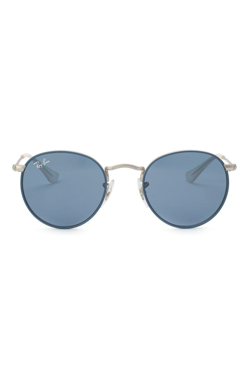 Детские солнцезащитные очки RAY-BAN синего цвета, арт. 9547S-280/80 | Фото 2
