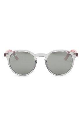 Детские солнцезащитные очки RAY-BAN серого цвета, арт. 9064S-70636G | Фото 2