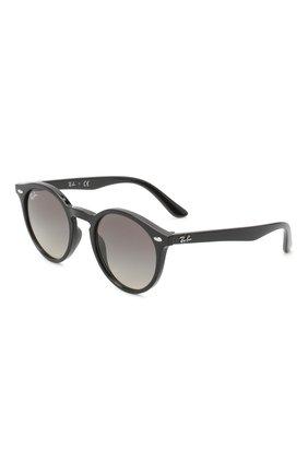 Детские солнцезащитные очки RAY-BAN черного цвета, арт. 9064S-100/11 | Фото 1