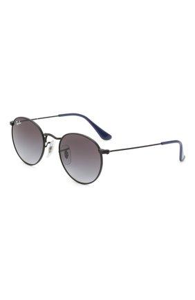 Детские солнцезащитные очки RAY-BAN черного цвета, арт. 9547S-201/8G | Фото 1