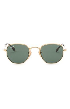 Детские солнцезащитные очки RAY-BAN золотого цвета, арт. 9541SN-223/71 | Фото 2