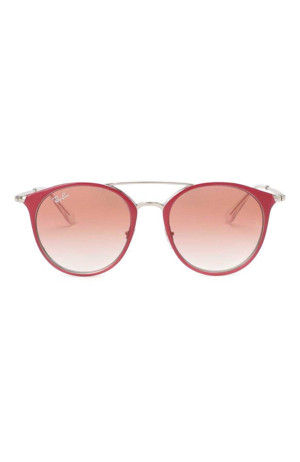Детские солнцезащитные очки RAY-BAN розового цвета, арт. 9545S-274/V0   Фото 2