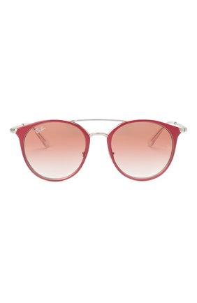 Детские солнцезащитные очки RAY-BAN розового цвета, арт. 9545S-274/V0 | Фото 2