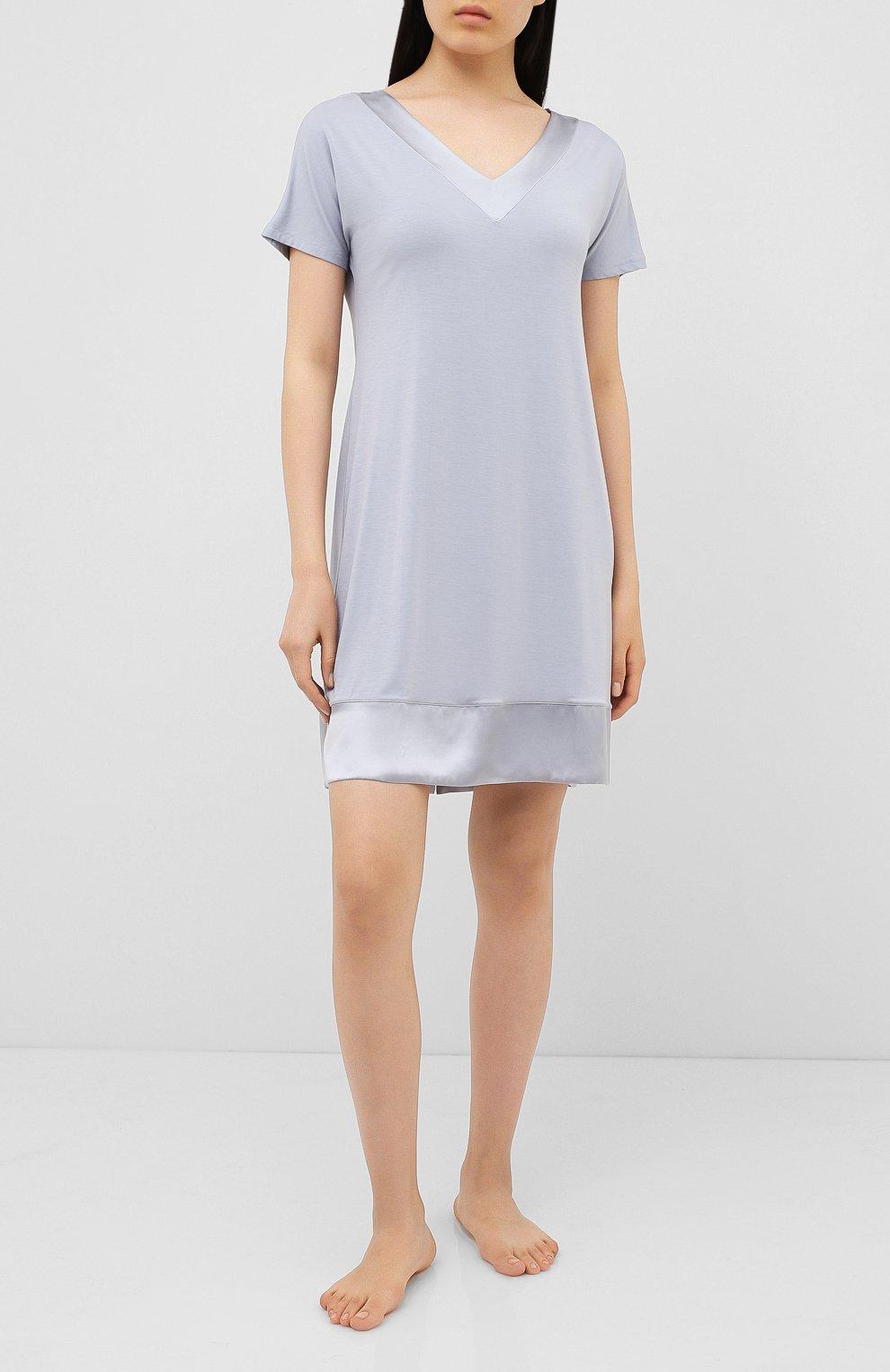 Женская сорочка FRETTE серого цвета, арт. 20100113 00F 00619 | Фото 2