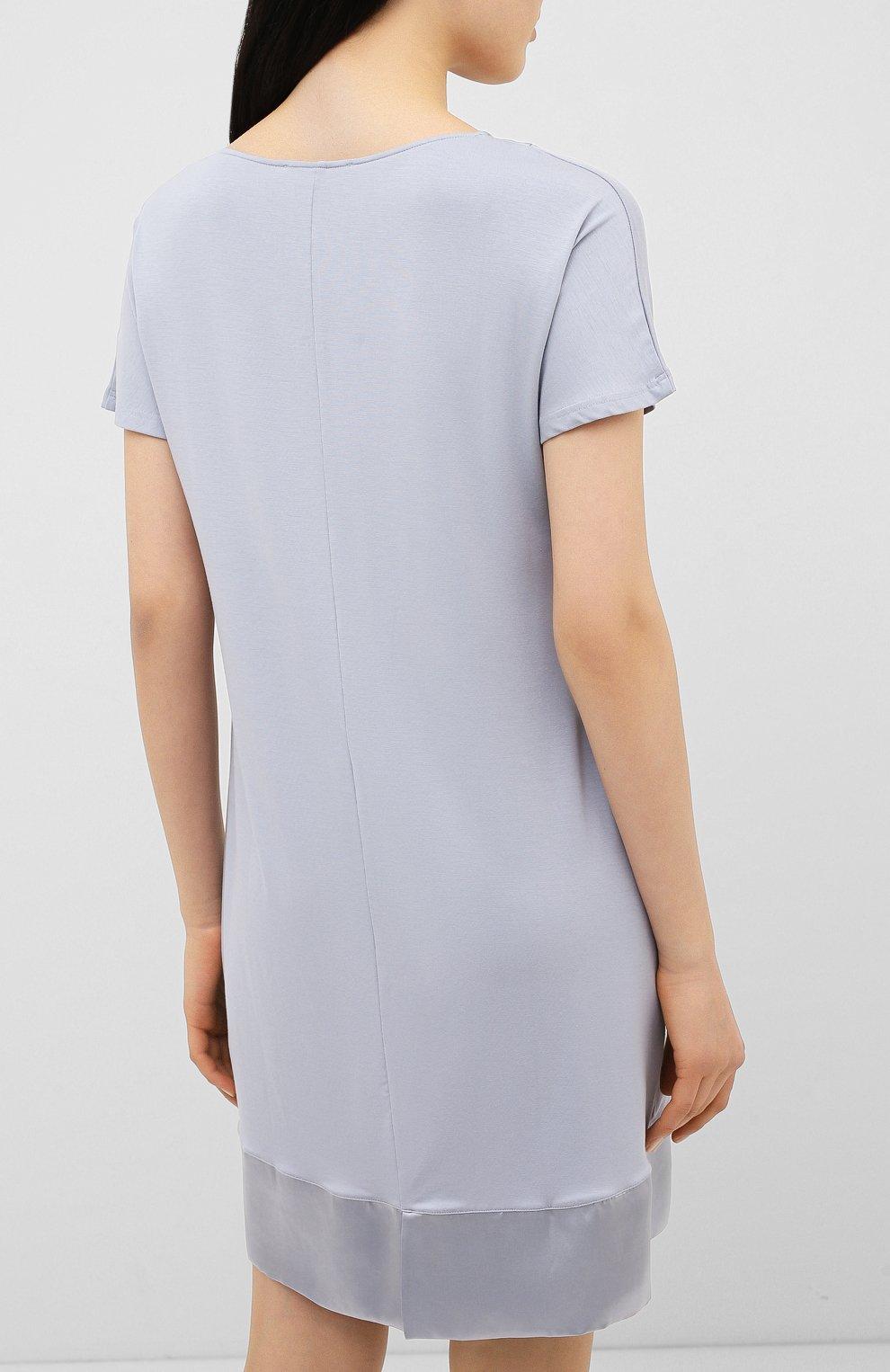 Женская сорочка FRETTE серого цвета, арт. 20100113 00F 00619 | Фото 4
