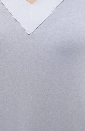 Женская сорочка FRETTE серого цвета, арт. 20100113 00F 00619 | Фото 5