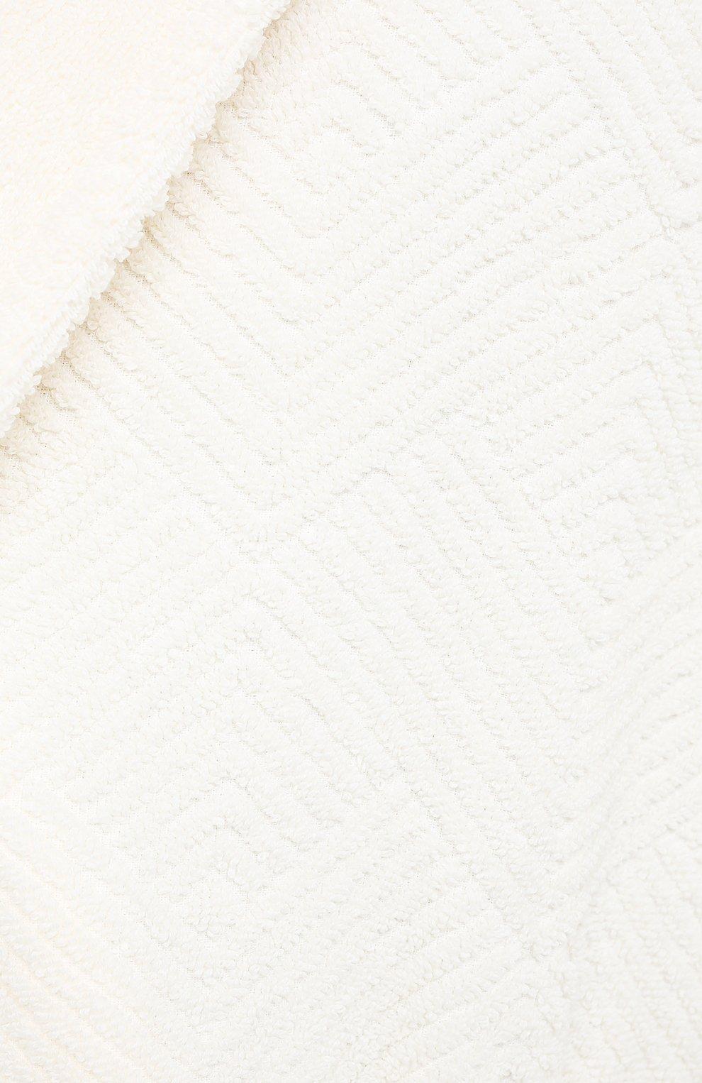 Мужской хлопковый халат FRETTE бежевого цвета, арт. FR6243 D2060 G02M   Фото 5