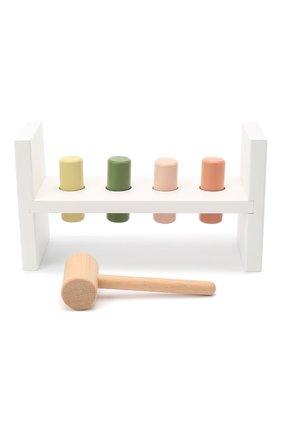 Детского развивающая игрушка с молотком KID`S CONCEPT белого цвета, арт. 1000407 | Фото 1