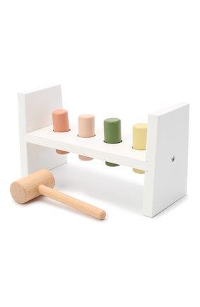 Детского развивающая игрушка с молотком KID`S CONCEPT белого цвета, арт. 1000407 | Фото 2