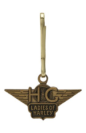 Женский брелок ladies of harl HARLEY-DAVIDSON золотого цвета, арт. A1032A | Фото 1