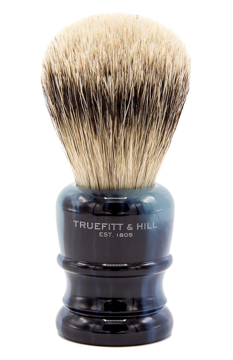 Мужская кисть для бритья wellington TRUEFITT&HILL бесцветного цвета, арт. 00293 | Фото 1
