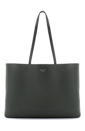 Женская сумка-тоут nine2five JIMMY CHOO хаки цвета, арт. NINE2FIVE E/W/GRC | Фото 1
