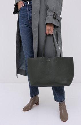Женская сумка-тоут nine2five JIMMY CHOO хаки цвета, арт. NINE2FIVE E/W/GRC | Фото 2