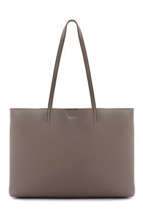 Женская сумка-тоут nine2five JIMMY CHOO серого цвета, арт. NINE2FIVE E/W/GRC | Фото 1