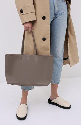 Женская сумка-тоут nine2five JIMMY CHOO серого цвета, арт. NINE2FIVE E/W/GRC | Фото 2