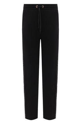 Мужской хлопковые брюки BURBERRY черного цвета, арт. 8026941   Фото 1