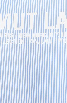Мужская хлопковая рубашка HELMUT LANG белого цвета, арт. K04HM508 | Фото 5
