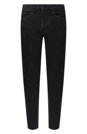 Мужские джинсы MARCELO BURLON черного цвета, арт. CMYA017E20DEN005 | Фото 1