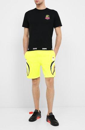 Мужские шорты BAPE желтого цвета, арт. 1G30153010   Фото 2