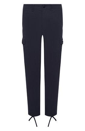 Мужской хлопковые брюки-карго BAPE темно-синего цвета, арт. 1G30152014   Фото 1