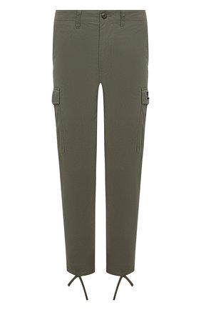 Мужской хлопковые брюки-карго BAPE хаки цвета, арт. 1G30152014   Фото 1