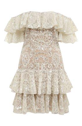Женское платье ZUHAIR MURAD белого цвета, арт. DRR20009/EMAL001 | Фото 1