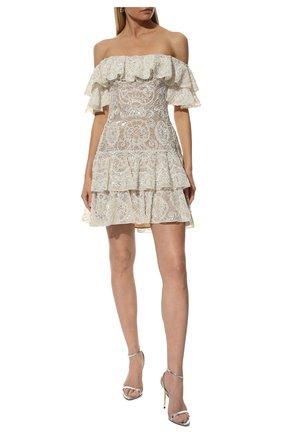 Женское платье ZUHAIR MURAD белого цвета, арт. DRR20009/EMAL001 | Фото 2
