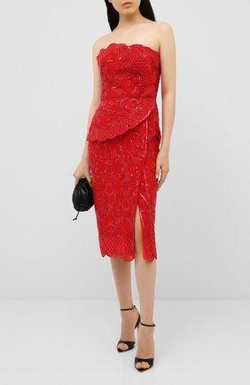 Женское платье  ZUHAIR MURAD красного цвета, арт. DRR20013/EMAL002 | Фото 2