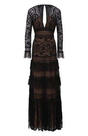 Женское платье-макси ZUHAIR MURAD черного цвета, арт. DRR20023/LMIX005 | Фото 1