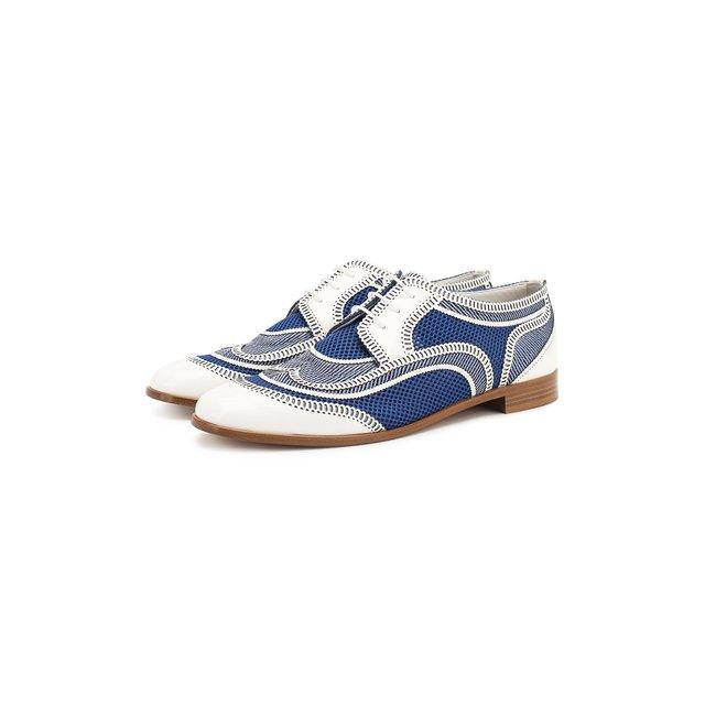 Кожаные туфли Giorgio Armani