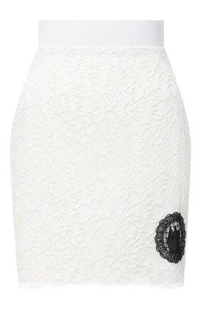 Женская юбка ULYANA SERGEENKO белого цвета, арт. GNC002SS20P (0507т20) | Фото 1