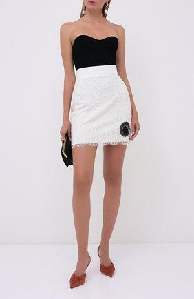 Женская юбка ULYANA SERGEENKO белого цвета, арт. GNC002SS20P (0507т20) | Фото 2