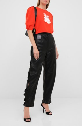 Женские брюки ULYANA SERGEENKO черного цвета, арт. PNT001SS20P (0825т20) | Фото 2