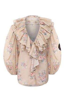 Женская блузка ULYANA SERGEENKO бежевого цвета, арт. CMA003SS20P (0342т20) | Фото 1