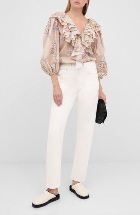 Женская блузка ULYANA SERGEENKO бежевого цвета, арт. CMA003SS20P (0342т20) | Фото 2