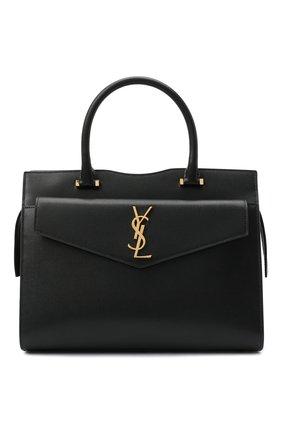 Женская сумка uptown SAINT LAURENT черного цвета, арт. 634747/1KA0J   Фото 1