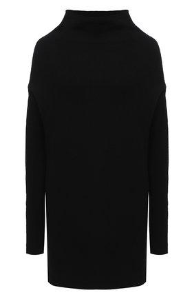Женская пуловер из кашемира и шерсти RICK OWENS черного цвета, арт. RP20F2681/WSBR   Фото 1