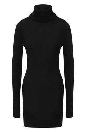 Женская кашемировый свитер RICK OWENS черного цвета, арт. RP20F2614/RIBWS   Фото 1