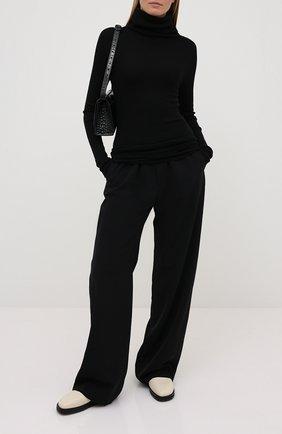 Женская кашемировый свитер RICK OWENS черного цвета, арт. RP20F2614/RIBWS   Фото 2