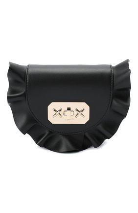 Женская поясная сумка REDVALENTINO черного цвета, арт. UQ2B0B87/VFV | Фото 1