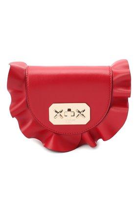 Женская поясная сумка REDVALENTINO красного цвета, арт. UQ2B0B87/VFV | Фото 1
